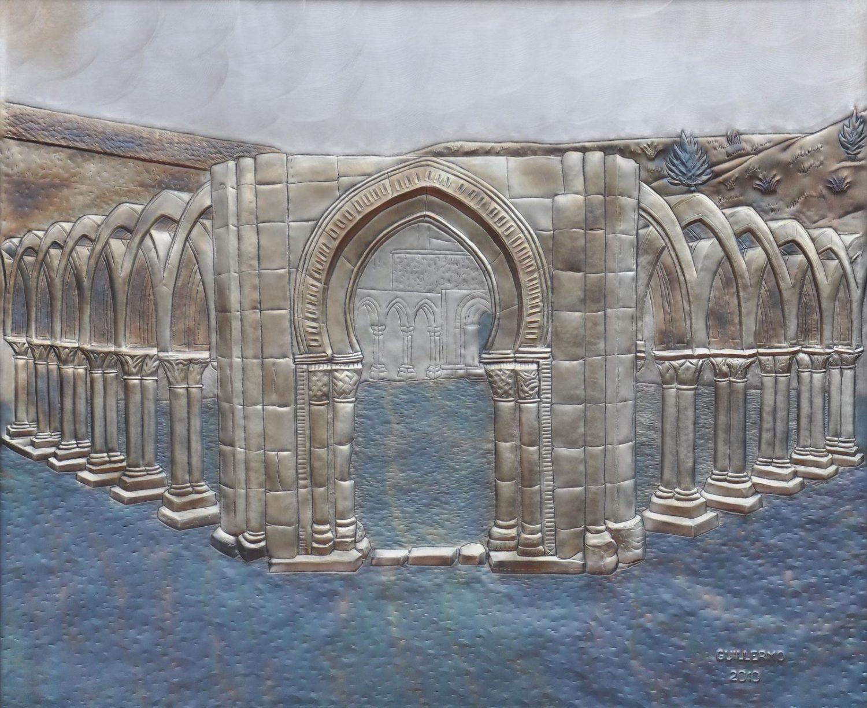 Arcos de San Juan de Duero. Hierro repujado.